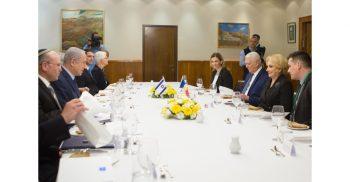 big 21596996 7d65 421e 810c 8c7fe9151a3c 350x182 Dancila s a intalnit cu premierul israelian. Mutarea ambasadei, adusa in discutie (VIDEO)