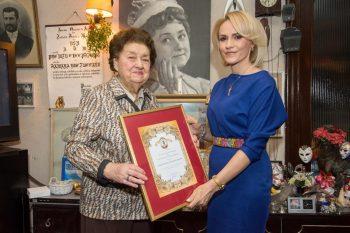 buciuceanu 350x233 Tamara Buciuceanu Botez, cetatean de onoare al Bucurestilor