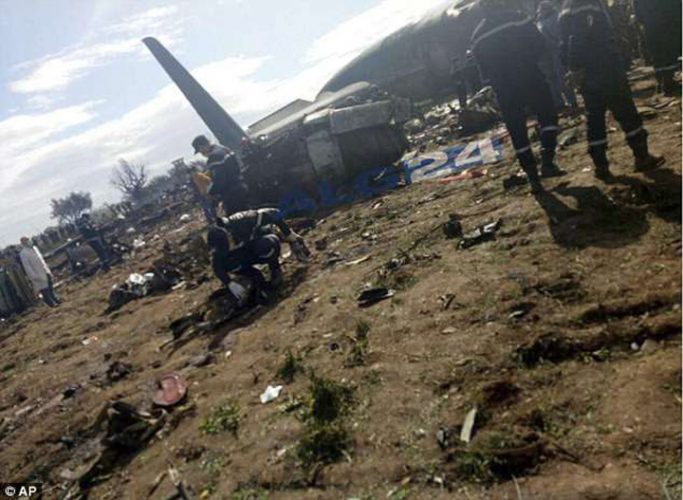 catastrofa 683x500 Catastrofa aviatica in Algeria: 257 de morti