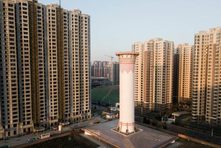 china 2 Turnul care purifica aerul
