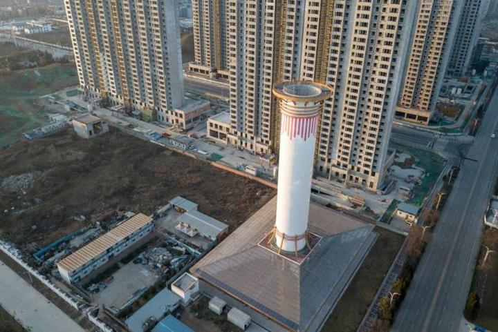 china1 Turnul care purifica aerul