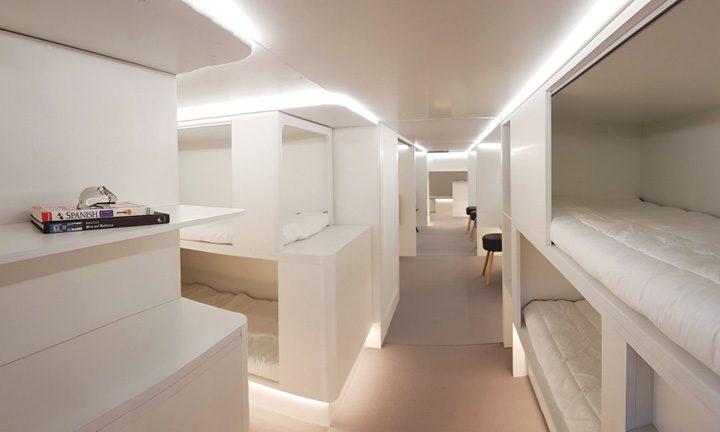 cusete 720x432 Airbus pregateste cusete de dormit in avioanele de linie