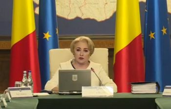 dancila 2 350x222 Atac Siria. Guvern: Romania, solidara cu actiunea ferma de raspuns a SUA, Marea Britanie si Franta