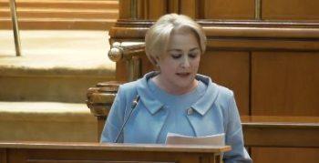 dancila parlament 350x179 Dancila: Salariile vor intra inainte de Paste, pensiile nu/Explicatia