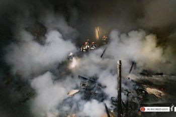 incendiu casa2 350x233 Incendiu puternic in Capitala, de Pasti