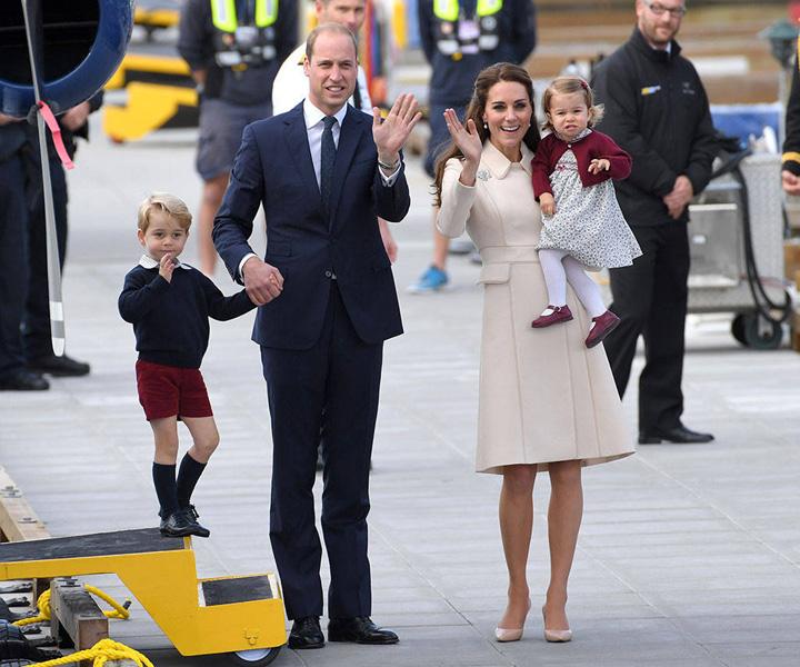 kate si william Royal Baby numarul 3 a venit pe lume