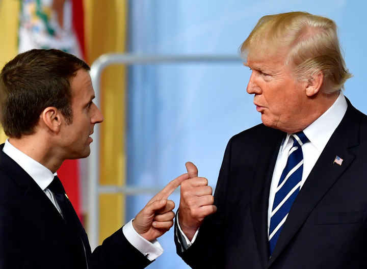 macron 1 Test pentru Macron la Casa Alba