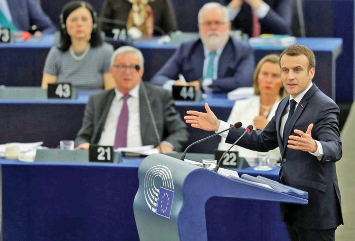 macron Macron vrea sa fie Merkel II