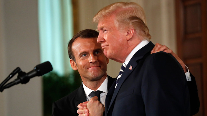 medalion 3 Trump, masculul alfa