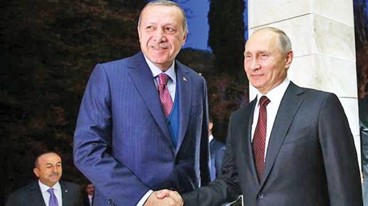 medalion putin 720x404 Putin inaugureaza centrala nucleara a lui Erdogan