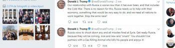mesaje 350x96 Mesajul lui Trump: Pregateste te Rusia!