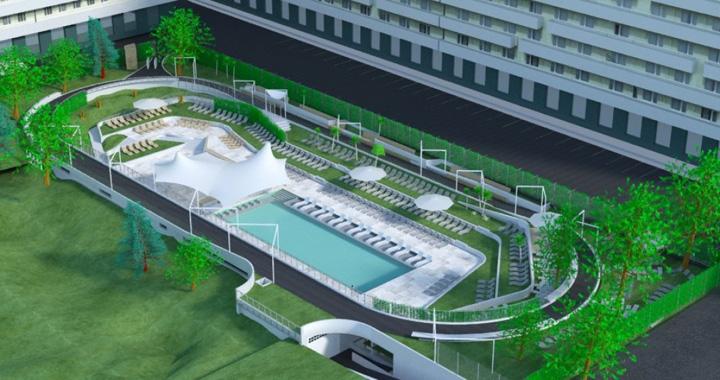 piscina pista Piscina pentru corporatisti