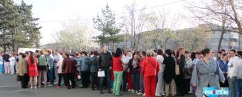 protest 350x141 Proteste la Bagdasar Arseni si la un spital din Craiova. Motivul: reducerea sporurilor