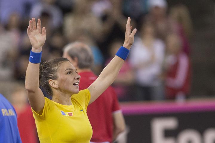 simona 1 Fed Cup: Halep duce Romania in Grupa Mondiala