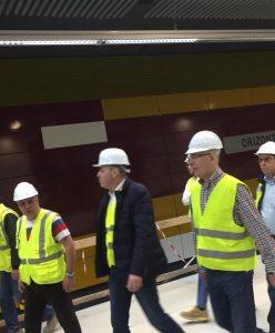 vizita 248x300 Ministrul Transporturilor, in inspectie pe santiere. Cu ochii pe A3 si Magistrala 5 de metrou