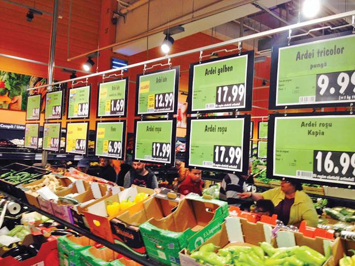 01. Preturi alimente Bucuresti FM Inflatia ii sfideaza in continuare pe pesedisti