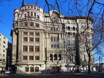 1024px Palatul Tinerimea Romana Bucuresti intrarea de pe Bulevardul Schitu Magureanu 350x261 Povestea primei femei arhitect din România