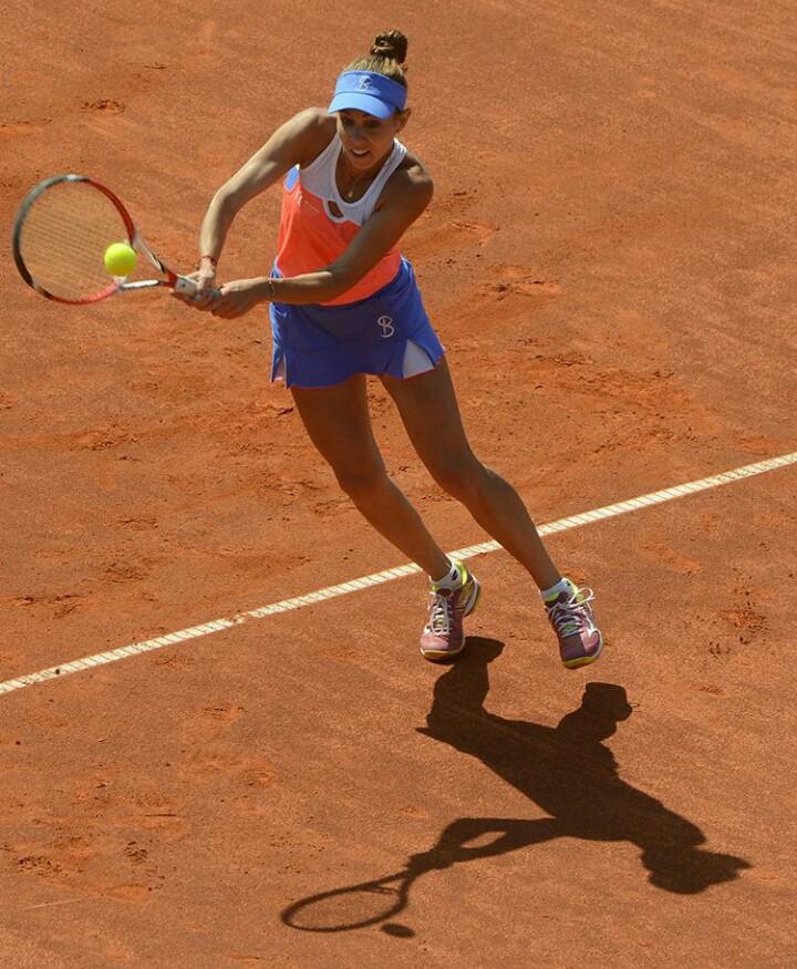 31948500 249243478980389 2359642319319203840 n mihaela Buzarnescu, invinsa de Sarapova in primul meci jucat la Madrid