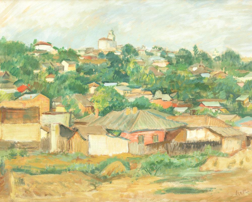 Iosif Iser Case la marginea Bucureștiului Bucureştiul văzut de marii pictori ai României