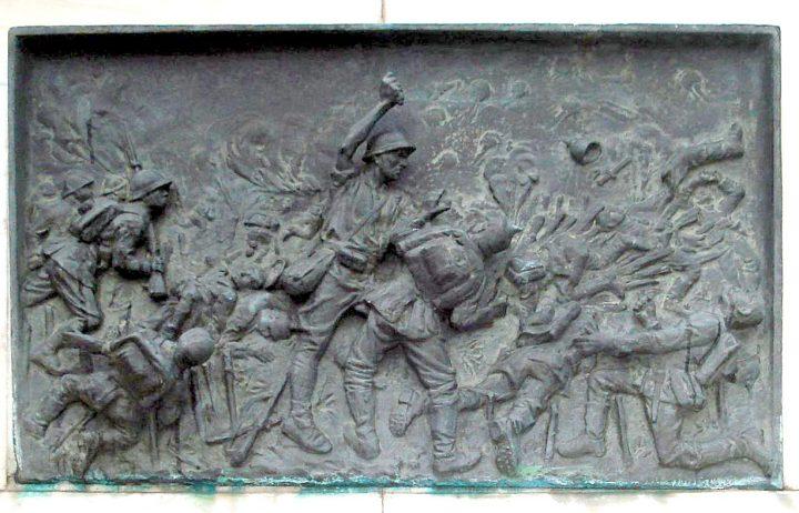 Statuia din Salajan fata 720x462 Eroii Marii Uniri, în fiecare colţ de Bucureşti