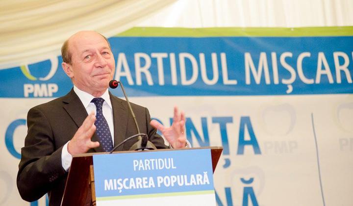 Traian Basescu PMP Iasi foto Dan Luca 20 Pe politicienii lui Basescu ii doare n cot de ideologia partidului