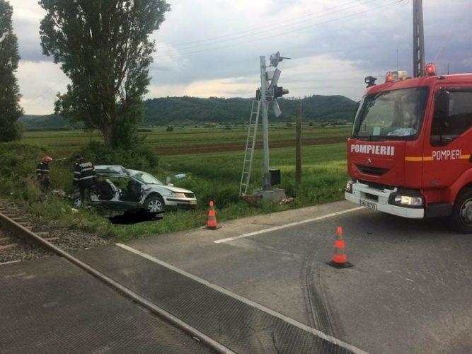 accident tren 667x500 Accident dramatic pe calea ferata: patru tinere au murit, in Salaj