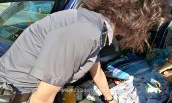 bebelus 350x210 Gasiti la frontiera cu bebelusul ascuns sub o patura. Explicatiile parintilor