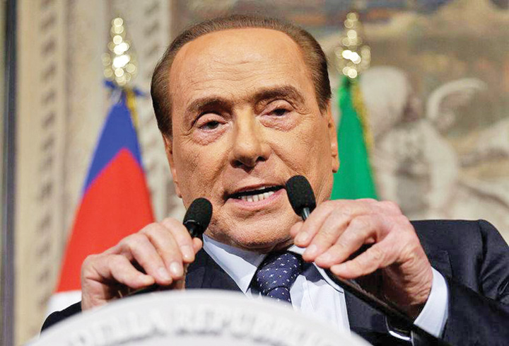 berlusconi Berlusconi, spalat iar de justitie