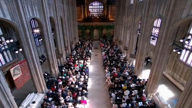 capela Imagini live de la nunta Printului Harry cu Meghan Markle (VIDEO)