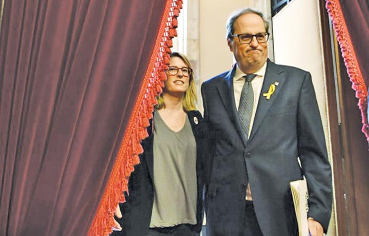 catalan Quim Torra, noul presedinte al Cataloniei