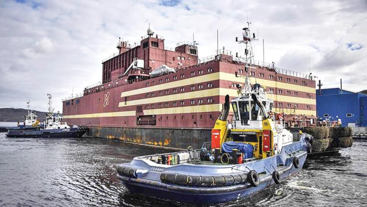 centrala Rusia a lansat primul Cernobal plutitor