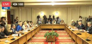 comisie 350x171 Melescanu, cu explicatii la Comisia de politica externa, pe tema ambasadei