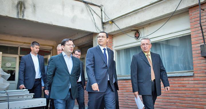 """cu bani 1 Ponta, noul """"peste"""" al politicii !"""