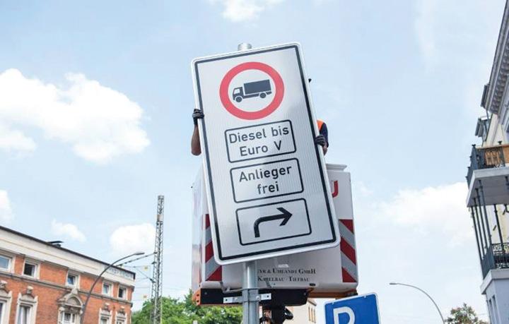 diesel De astazi, Hamburg interzice masinile diesel