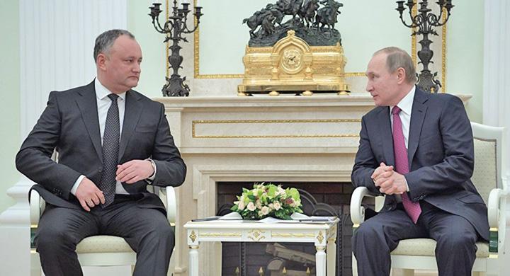 dodon putin Latul lui Putin, pe gatul Moldovei