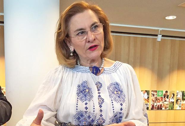 grapini Maria Grapini exporta topism dimbovitean in Parlamentul European