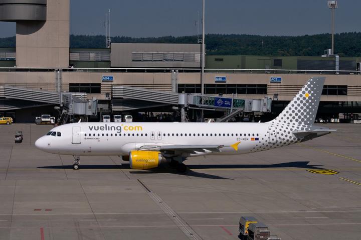greva Greva in Spania, zboruri anulate