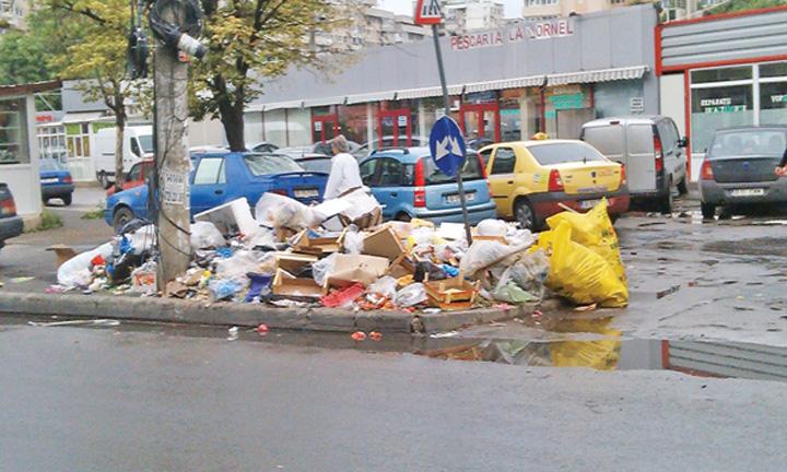 gunoi Bucurestenii, nemultumiti de mizeria din orasul lor