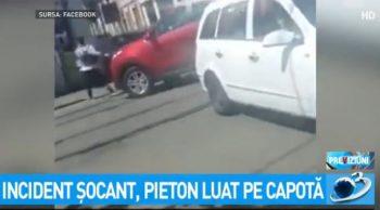 incid 350x194 UPDATE Declaratia soferului/Pieton impins cu masina, in Capitala. Politia face cercetari (VIDEO)