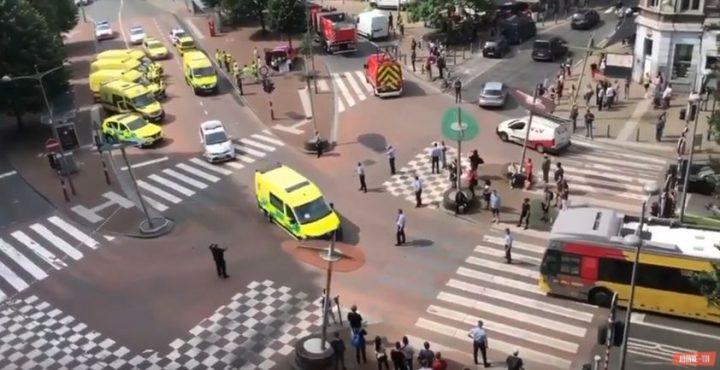incident 720x370 Un barbat a impuscat mortal trei oameni, intr un oras belgian (VIDEO)