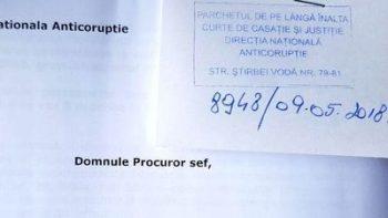 inregistrare denunt la DNA 350x197 Plangere la DNA impotriva sotilor Iohannis, pentru dobandirea frauduloasa a unor imobile in Sibiu