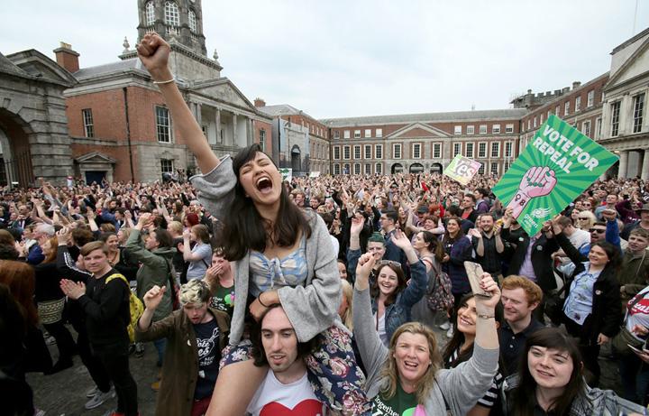 irlanda Irlanda catolica a votat liberalizarea avortului