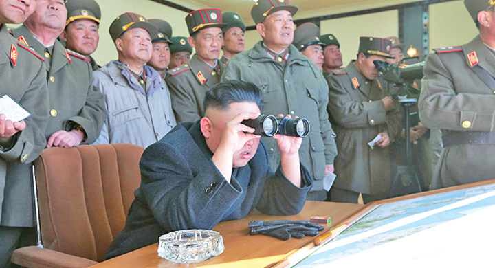 kim 3 Kim isi distruge bombele