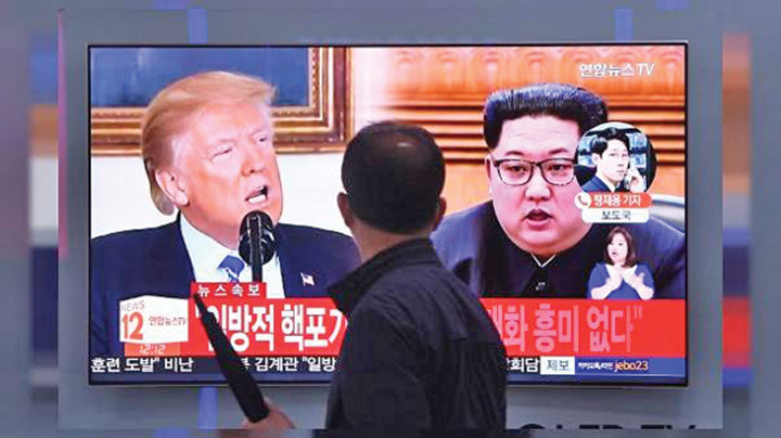 kim 4 Kim intoarce foaia cu Trump