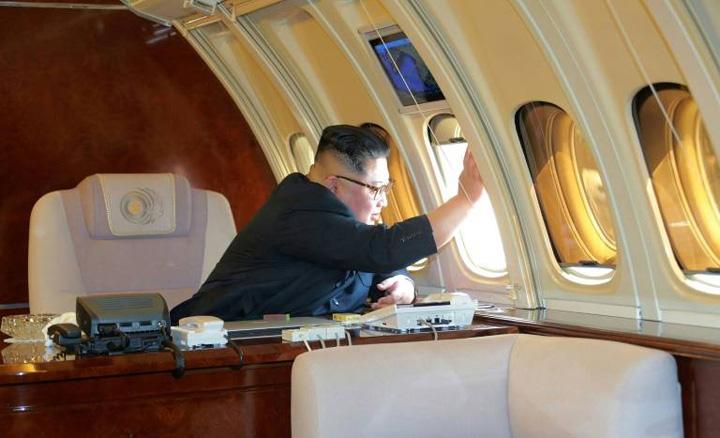 kim1 Air Force Un, avionul personal al lui Kim