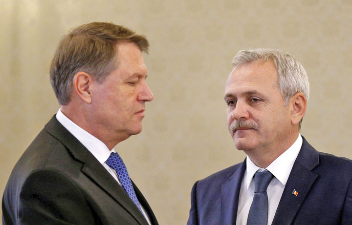 libertatea.ro Klaus Iohannis si Liviu Dragnea Iohannis nu mai e presedinte!