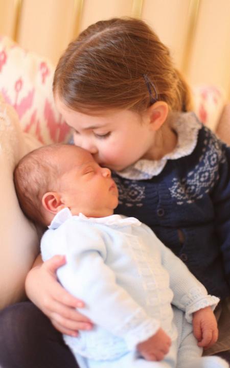 louis bun Primele imagini cu bebelusul regal