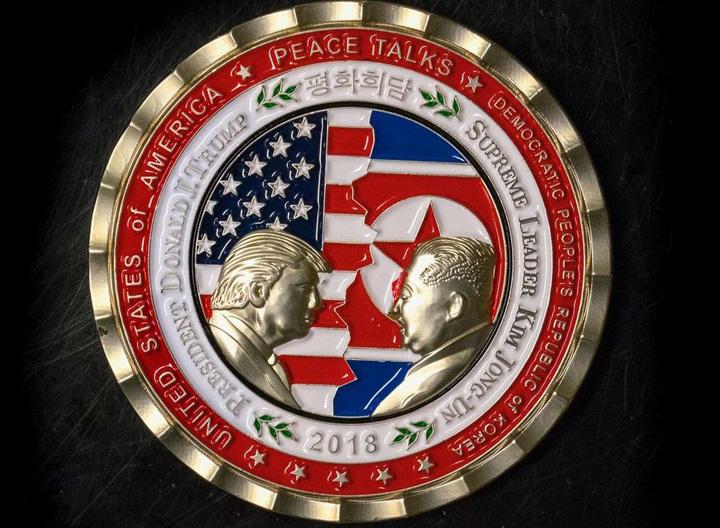 medalie Intalnirea Trump Kim are deja medalie