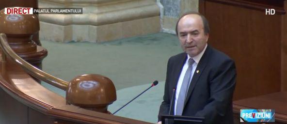 ministru Toader, in Parlament, despre Raportul GRECO: din pacate, a fost transformat intr o tema politica