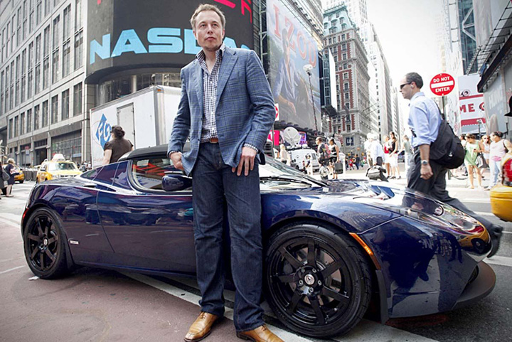 musk Patronul Tesla muta pe ...bomboane